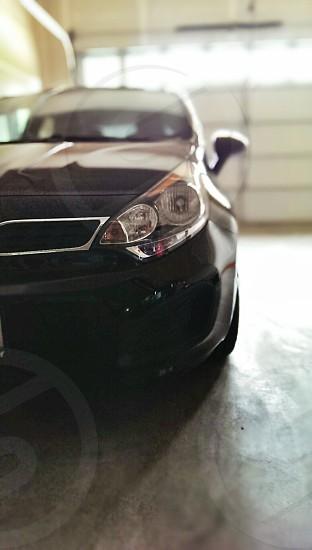 Car in garage photo