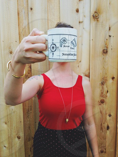 Coffee habit photo