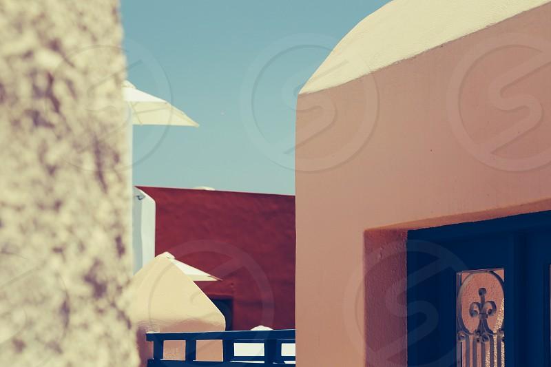 Color palette forms cubes lines architecture  buildings shapes photo