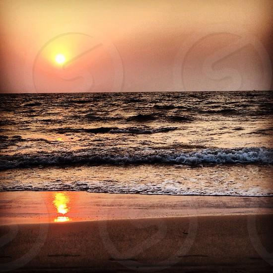 Vagator beach- Goa photo
