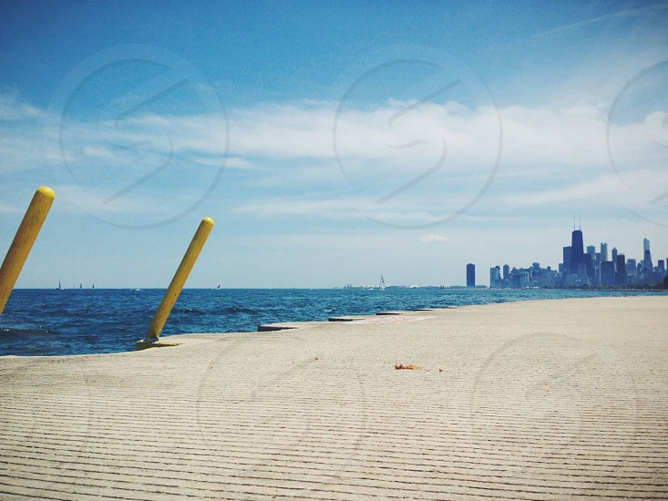 chicago lakefront path photo