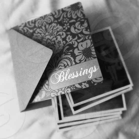 Mail blessings photos family. photo