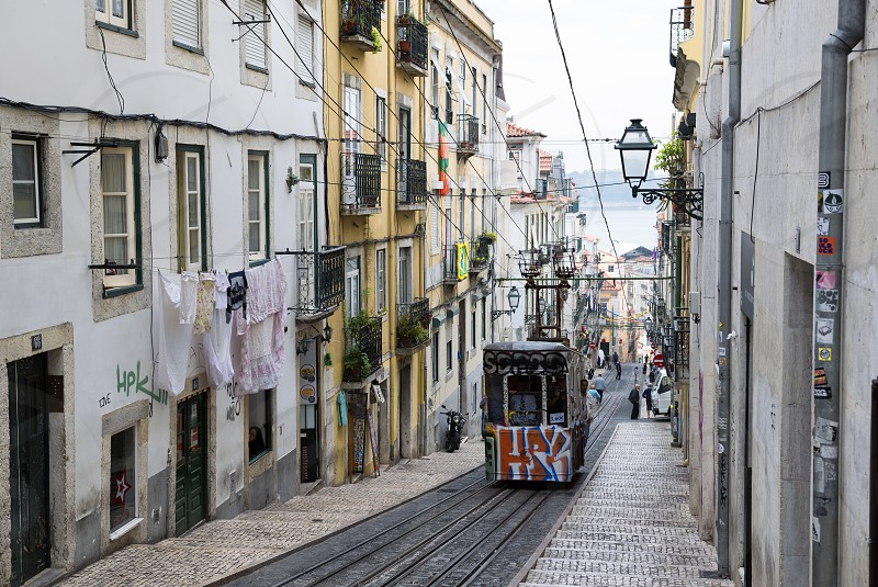 In the streets of Lisbon photo