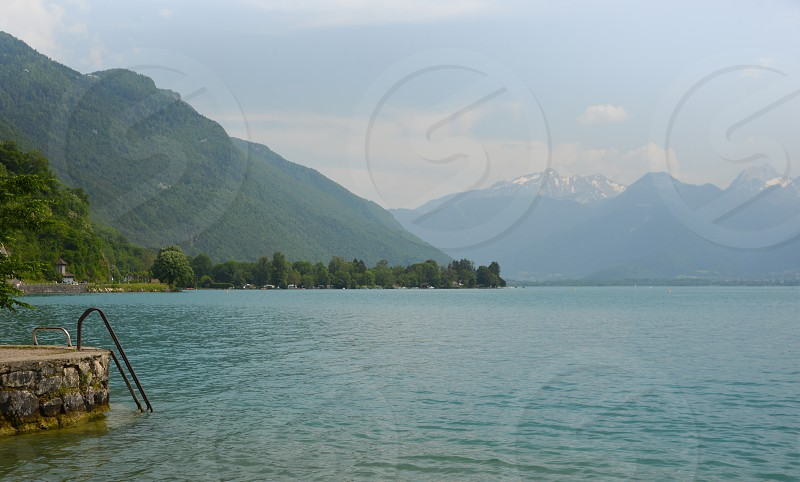 Lake Annecy France photo