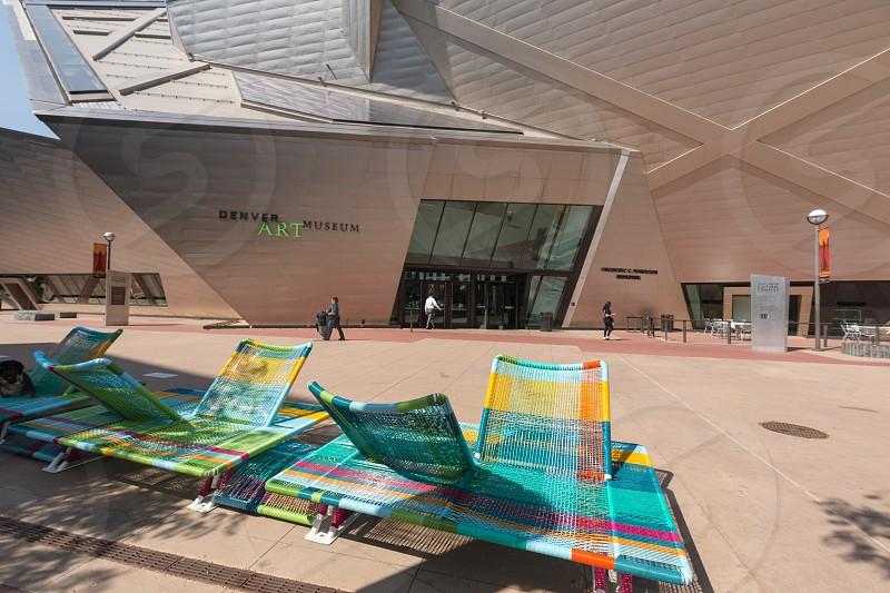 Denver Art Museum Denver Colorado photo