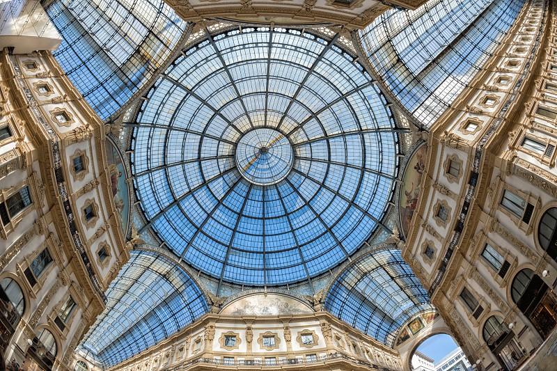 Milan 2015 expo vittorio emanuele gallery ceiling photo