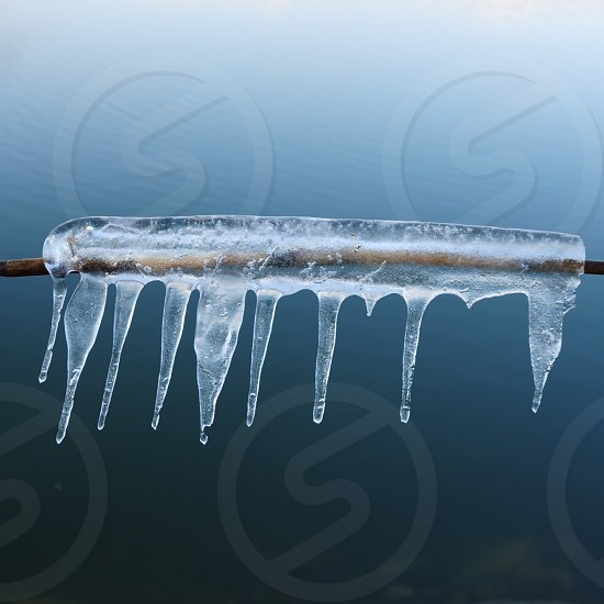 clear ice dew photo