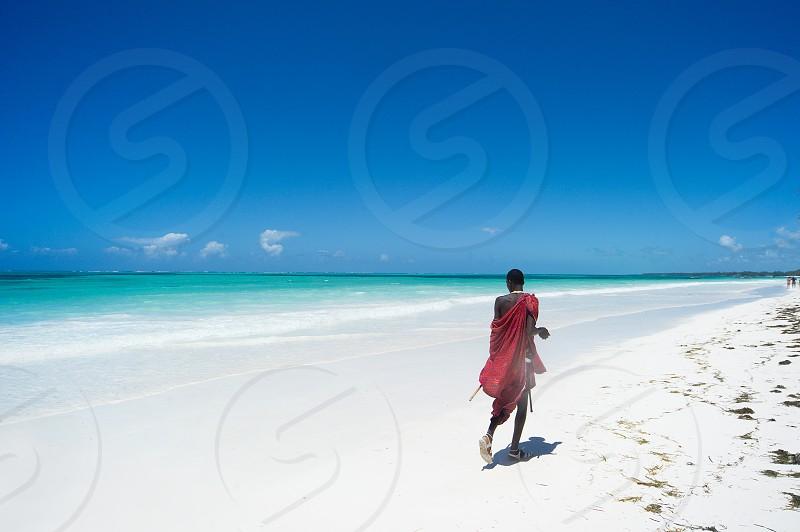 white sand photo