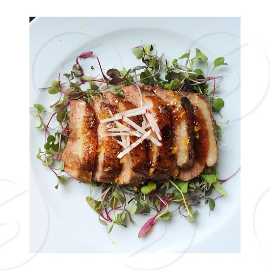 duck breast made in my kitchen  photo
