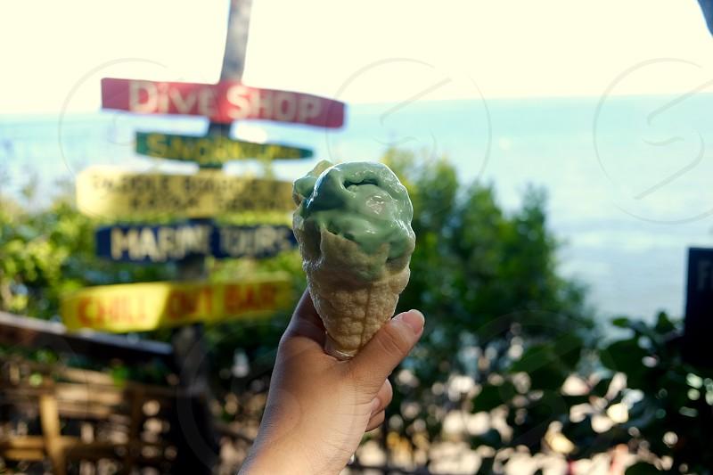 ice cream summer tropics fresh island life dive philippines unique destination photo