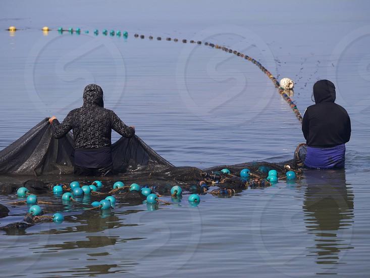 Fish net photo