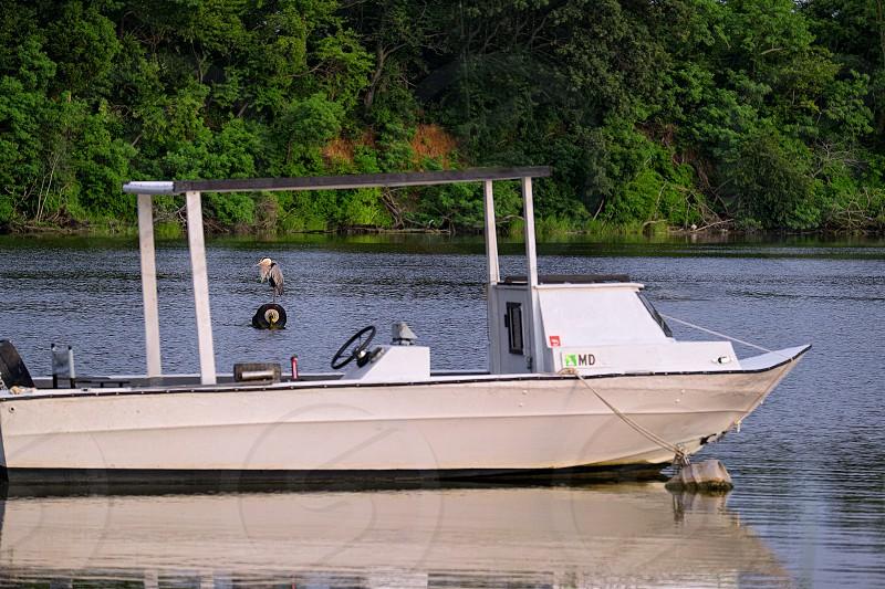Wye River Work Boat Wye Landing MD photo