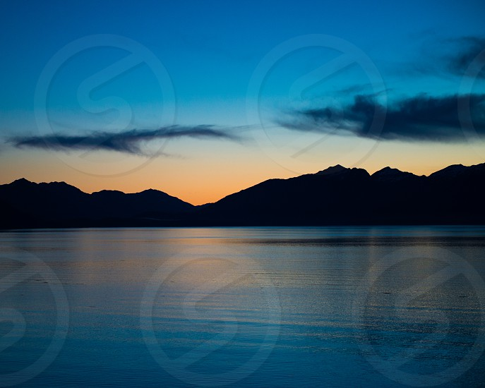 Sunrise Juneau Alaska photo