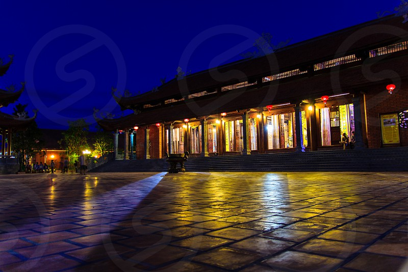 South Truc Lam pagoda Can Tho city Viet Nam photo