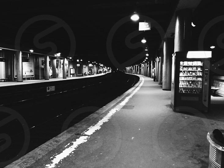 A metro station in Paris. photo