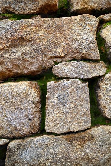 Wall architecture at Machu Picchu - inca empire ruins walls photo