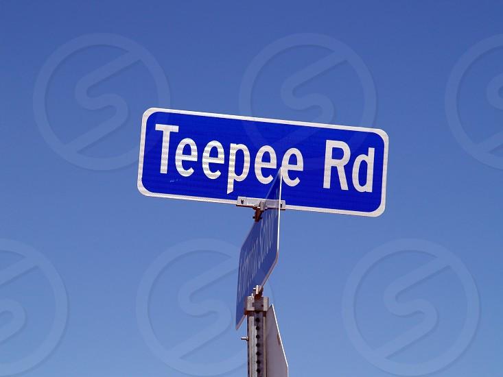 A strangely named road in Arlington Arizona. photo