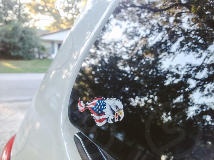 Car decal  photo