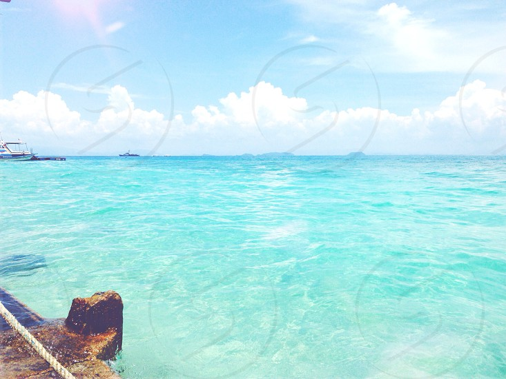 Perhentian island; Malaysia; vast seas  photo