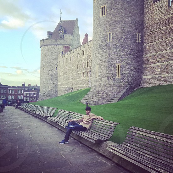 At Windsor castle - Windsor and Eton photo