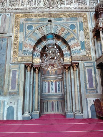 EL-Soultan Hassan Mosque in Cairo ( Egypt ) ^ photo