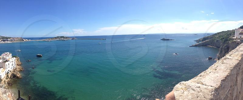 Ibiza waters. photo