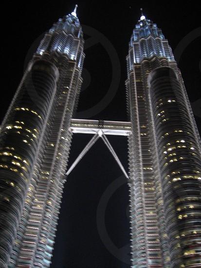 Twin tower.  photo