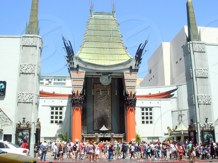 Chinese Theater Hollywood photo