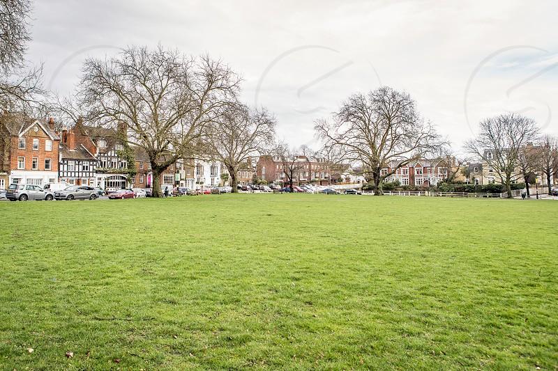 Kew Green Richmond London photo