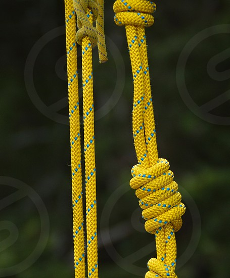 Rope  knots photo