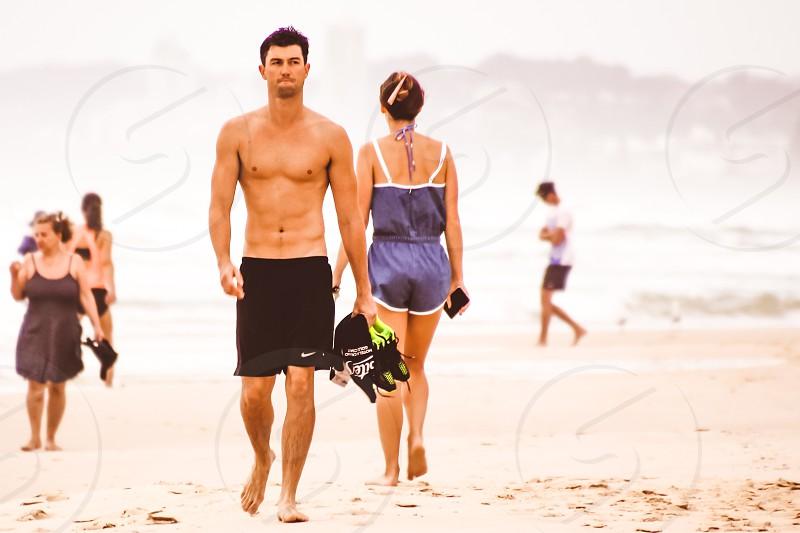 beach fitness photo