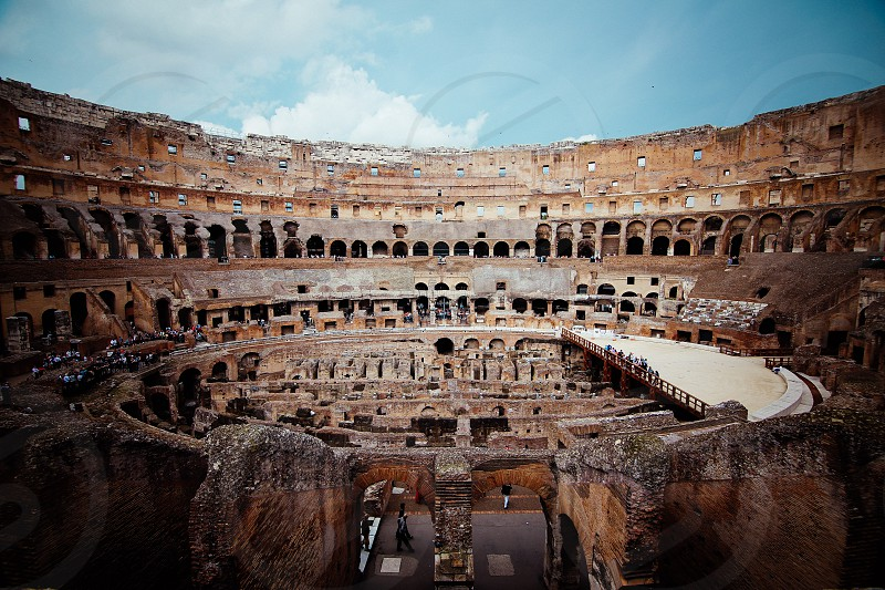 rome colosseum photo