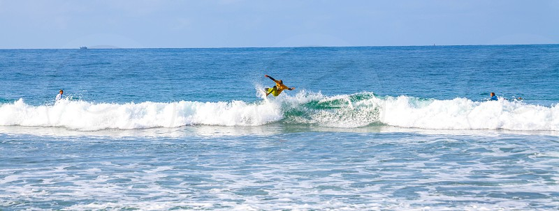 man surfing photo