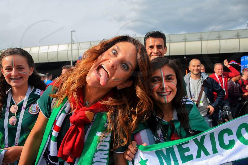 Mexico fans photo