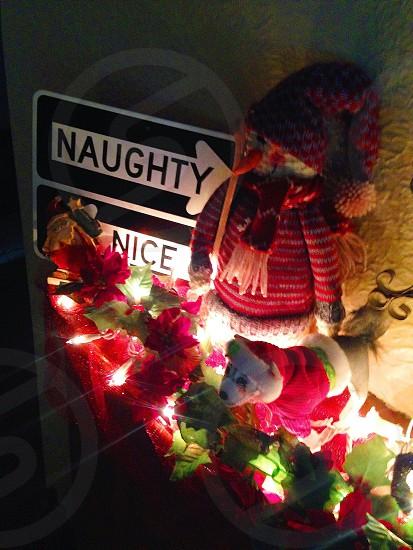 Naughty or Not Christmas  photo
