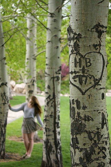 A heart that has withstood the test of time. Carved when we began our journey together five years ago this heart in our hometown only seems to grow boulder as the moments pass holding true and parallel with our relationship by its side.  photo