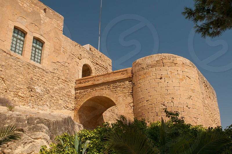 Santa Bárbara Castle Alicante. photo