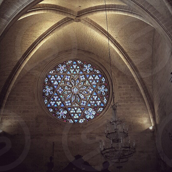 #valencia #spain #valenciacatedral #vitrage #gothic photo