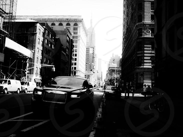 Rolls Royce in NYC photo