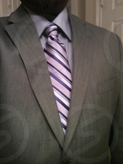 man in gray formal suit photo