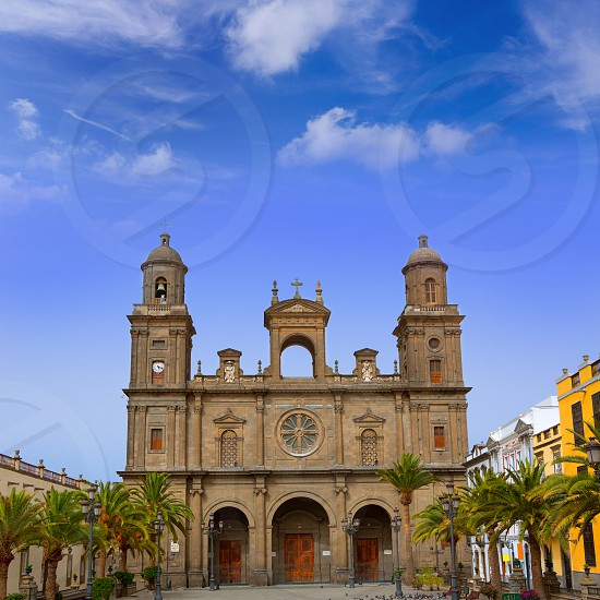Cathedral of Santa Ana in Las Palmas de Gran Canaria photo