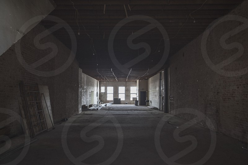 Abandoned building in Denton TX. photo