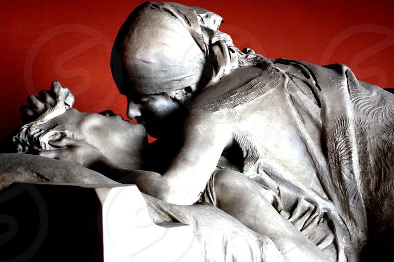 The last kiss. Cimitero monumentale. #Milano #italy #arts photo