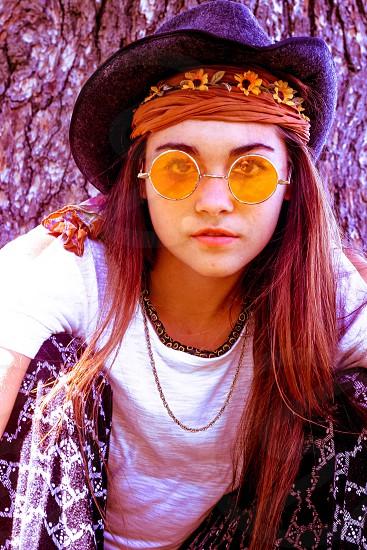 Carina Burgher channeling Mr. John Lennon photo