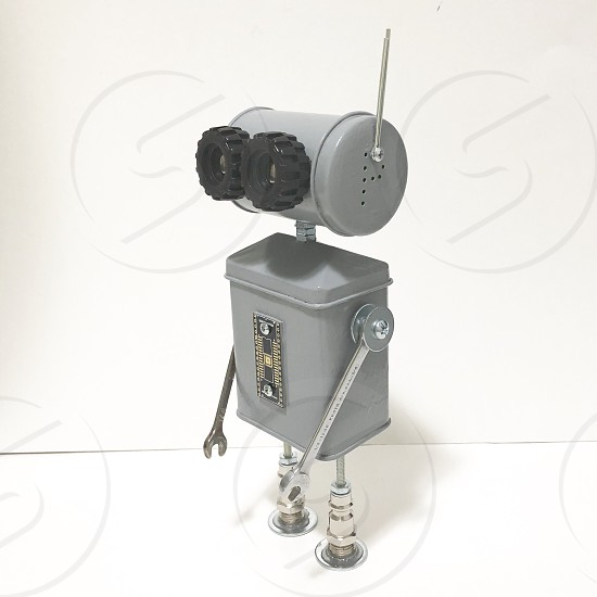 Found Objects Robot Sculpture  photo