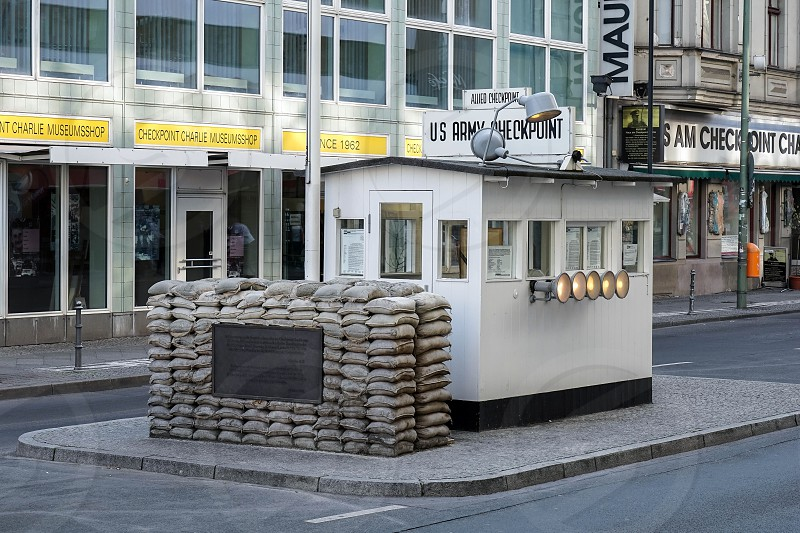 Checkpoint Charlie in Berlin photo