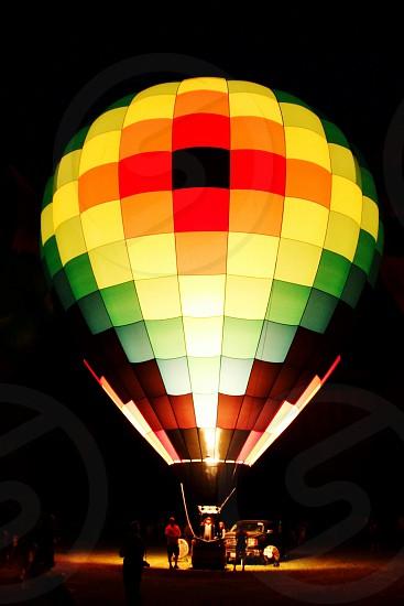 Hot Air Balloon Flight photo