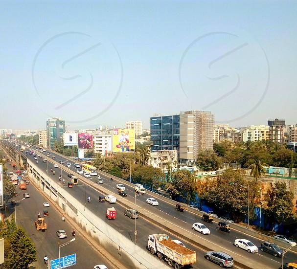 highway moving vehical andheri mumbai photo