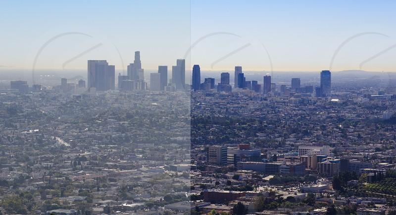 LA smog  photo