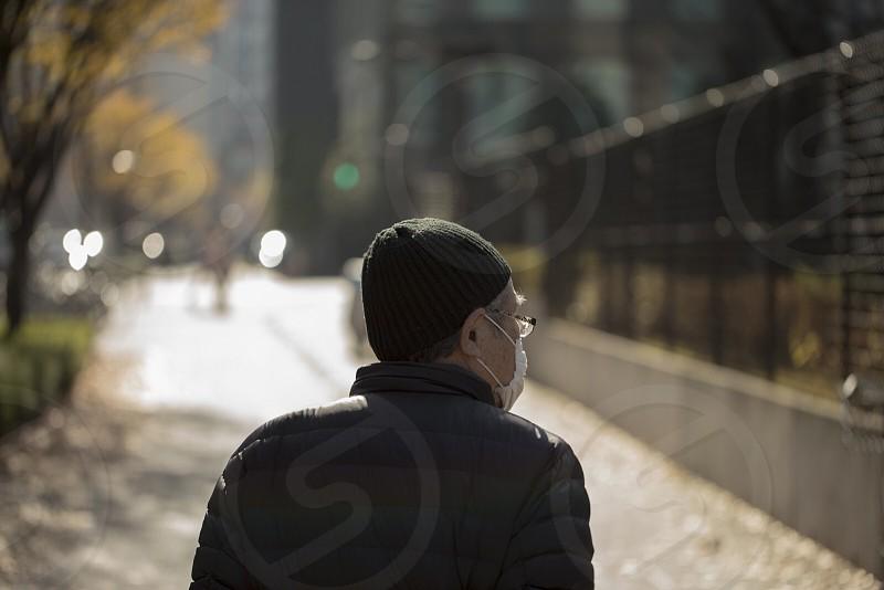 japan old man  photo